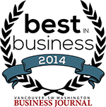 2014 Best in Business Badge